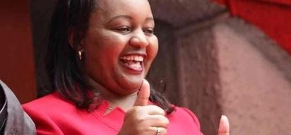 Anne Waiguru awazingua wengi baada ya kusakata densi vilivyo na wafanyakazi wake, tazama (video)