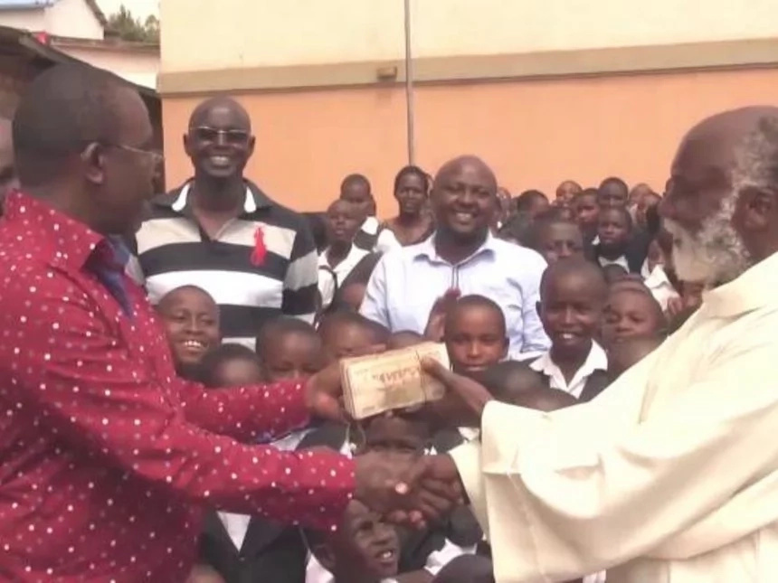 Jubilee MP splashes money at church, the consequence is SERIOUS