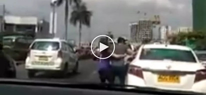 Inaway pati matanda! Pinoy road rage driver violently attacks elderly taxi driver in Pasay City