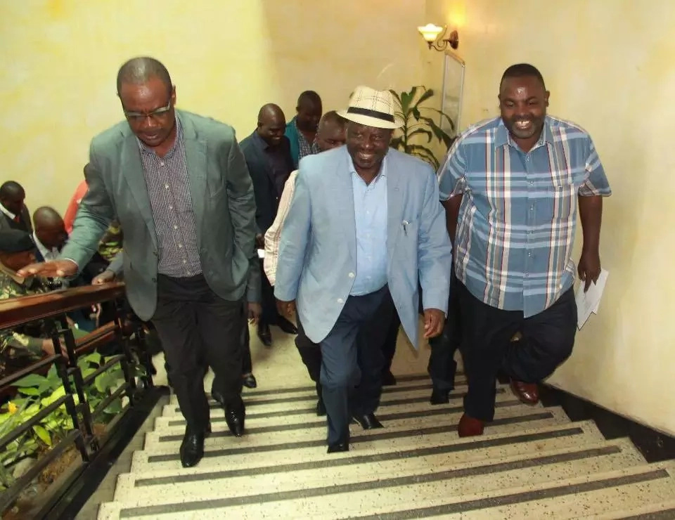 Raila rushes to cover one loophole that could COST him presidency