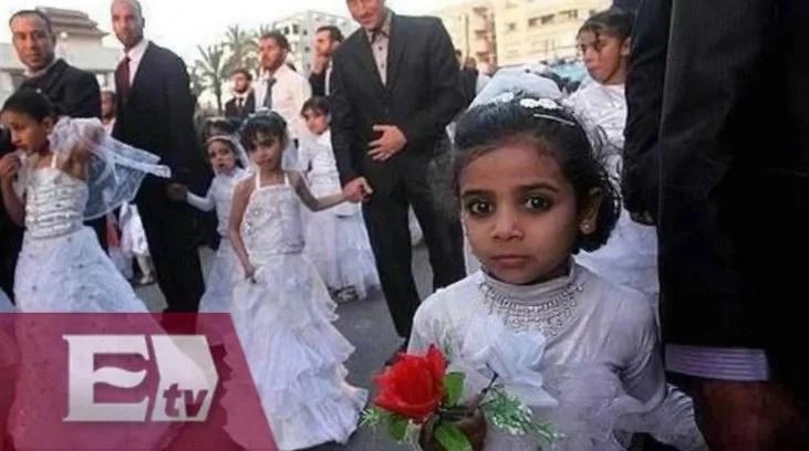 Niña de ocho años de edad muere durante su primera noche de bodas con su esposo de 40