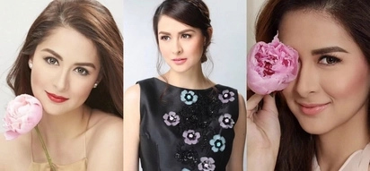 7 photos of Marian Rivera and flowers that you will fell in love with