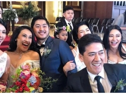 Sobrang daming sikat! Celebrities & famous personalities attend Ai-Ai delas Alas & Gerald Sibayan's wedding