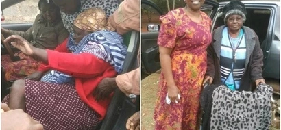 A woman from Murang'a ferried over 300 disabled and elderly to a polling station