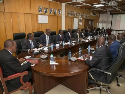 President Uhuru chairs fourth successive meeting ahead of his inauguration