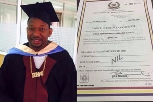 Mike Sonko SHAKES Jubilee by unleashing his academic papers