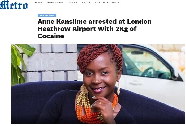 Shock and outrage as comedian Ann Kansime is reported imprisoned