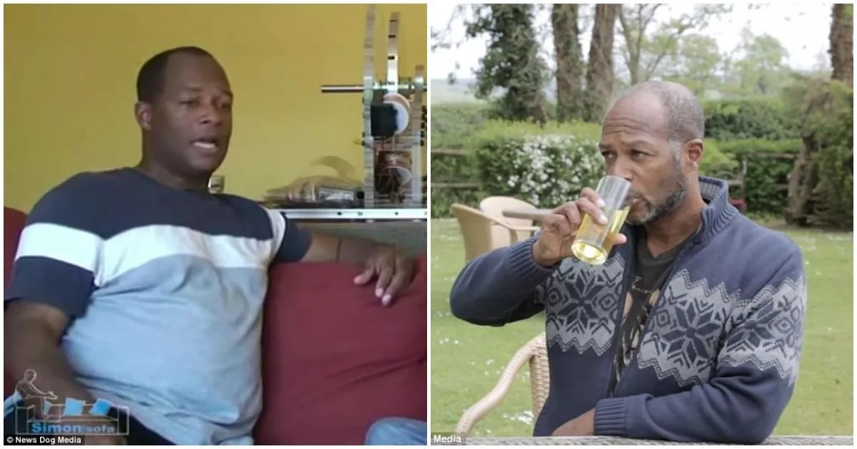 How my URINE helped me shed 50kg – 54 years old man reveals (photos)