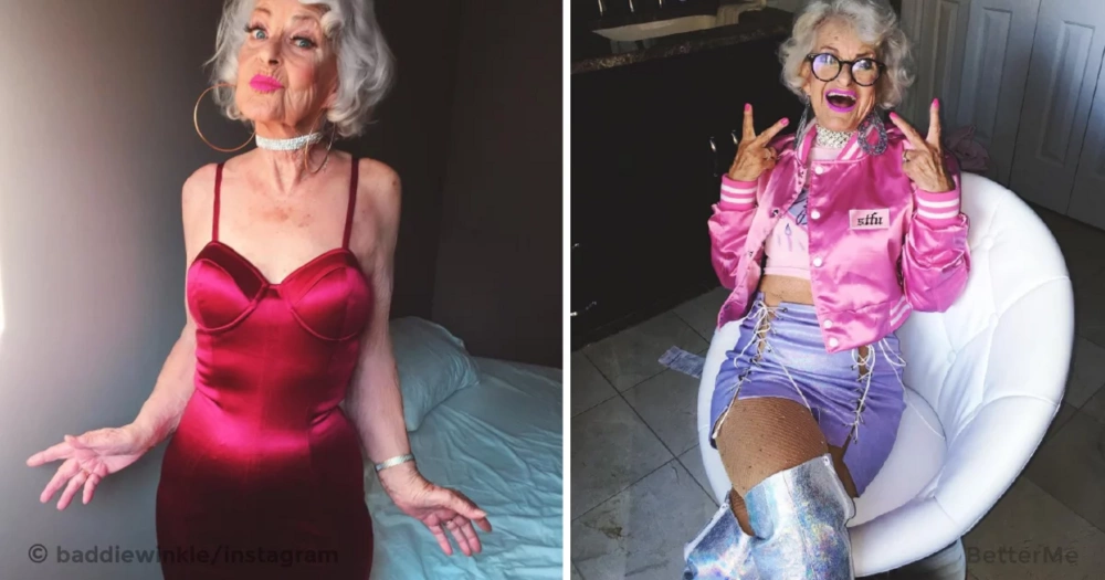 87-year-old grandma is an Instagram star with over 2 million followers