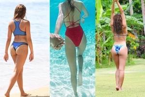 Sarah Lahbati and her best photos from Fiji holidays