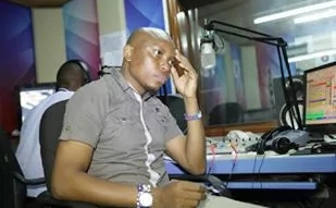 Popular Radio Citizen presenter reveals his wife; what she does for Kenya is moving (Photos)