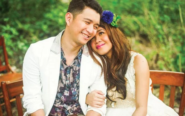 Melai rides out marital problems with husband Jason
