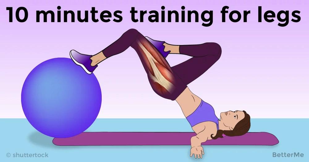 10 minutes training for seductive legs