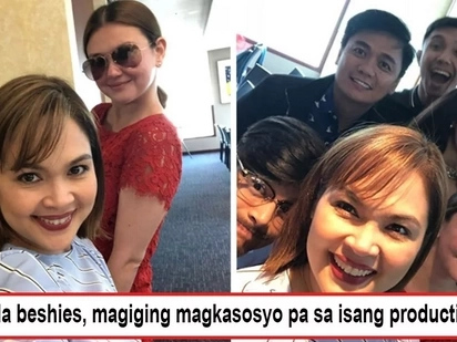 Magiging magkasosyo sila? Judy Ann Santos flaunts new hair for a possible new business venture with Angelica Panganiban