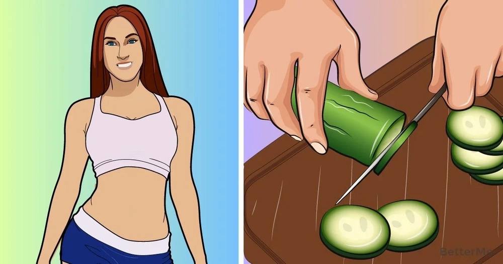 A 7-day cucumber-based diet that helps lose up to 13 lbs