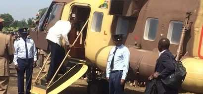 The untold reason why Uhuru was flown in two different planes in his western Kenya tour