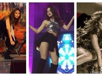 Fabulous Female TV celebrity dancers of today. The Best of Five!
