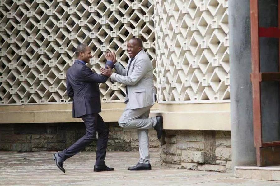 Babu Owino na Jaguar wafuata mkondo wa Uhuru-Raila waamua kusameheana