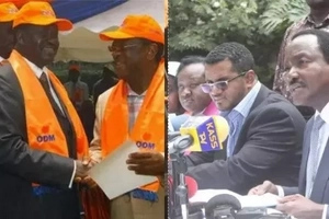Has Raila's ODM threatened to leave NASA after Wiper? Details