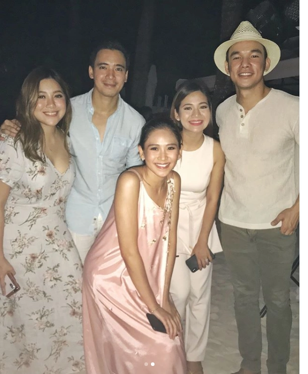 Celebrities who attended the beach wedding of Rachelle Ann Go and Martin Spies in Boracay