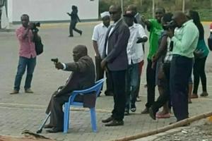 Jubilee senator ARRESTED after gun drama at petrol station