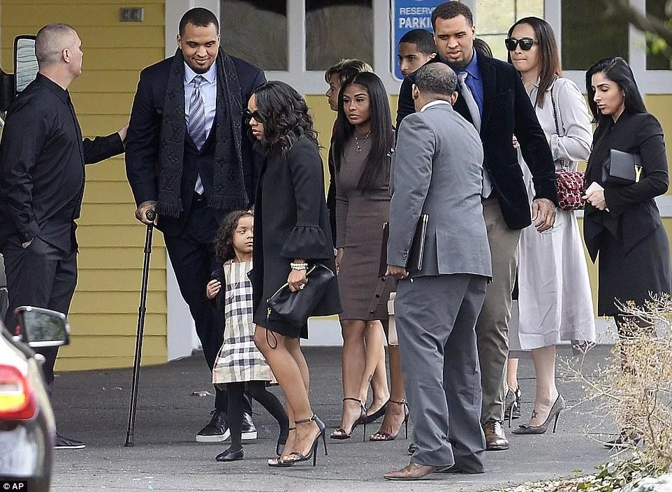 Fresh details emerge as family and friends gather to pay last respect to Aaron Hernandez (photos)