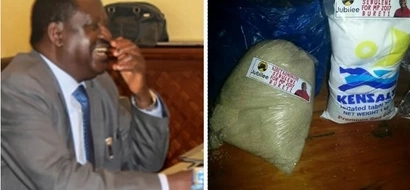 MP aspirant plasters his campaign posters on salt and sugar sachets