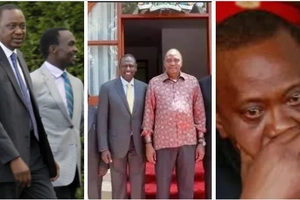 12 undeniable photos showing Uhuru's rapid weight gain since becoming president