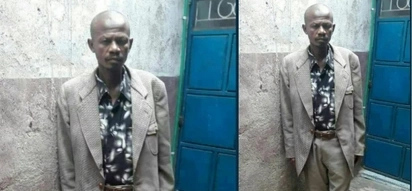 Githeri man looking stunning as he casts his vote for a second time
