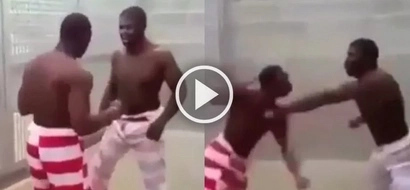 Footage on a smuggled phone shows barbaric game played in prison