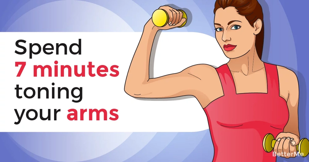 Spend 7 minutes toning your arms