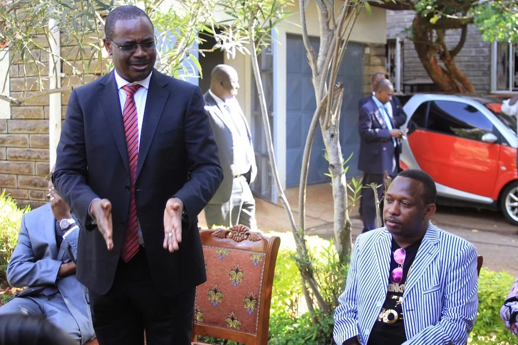 You have our full support – Nairobi governor Evans Kidero gets full assurance from this community