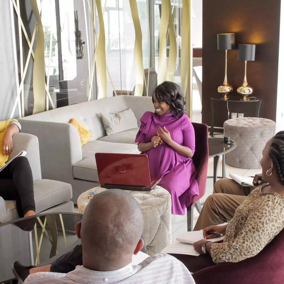 Former NTV presenter Faith Muturi is still hot while pregnant
