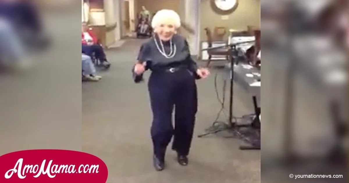 She Turned 100, But When The Music Begins To Play No One Can Believe Their Eyes