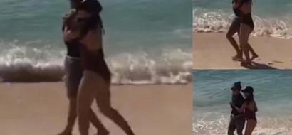 Kathryn Bernardo and Daniel Padilla take Boracay by storm with their sweet photos