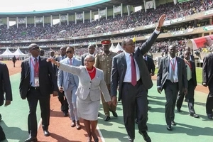 First Lady Margaret Kenyatta reveals what she will do if Uhuru leaves office in 2017