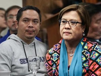 Nagka-demandahan na! NBP inmate Jaybee Sebastian files graft and criminal charges against De Lima
