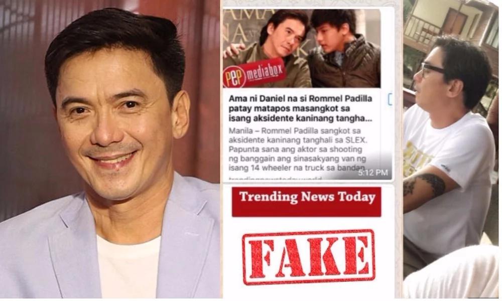 """Nadia Montenegro laughs off Rommel Padilla death hoax: """"Buhay na buhay siya."""""""