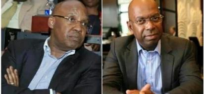 NASA billionaire financier Jimi Wanjigi and Bob Collymore's uncanny resemblance leaves tongues wagging