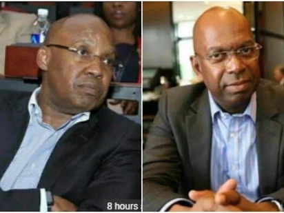 NASA billionaire financier Jimi Wanjigi and Bob Collymore's uncanny resemblance leaves tongues wagging