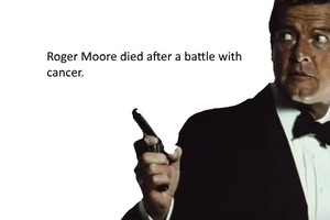 James Bond Actor Roger Moore Is Dead After A Battle With Cancer