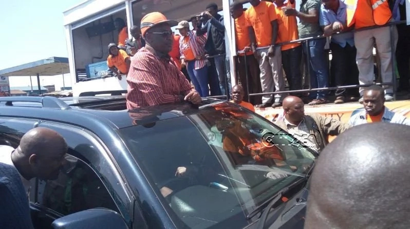 Hassan Joho brings Mathare into a standstill