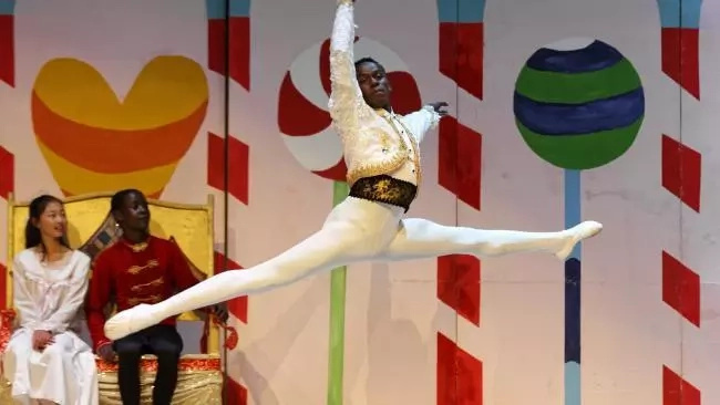 Teen boy came out of Kenyan slum to rise as promising BALLET star (photos)