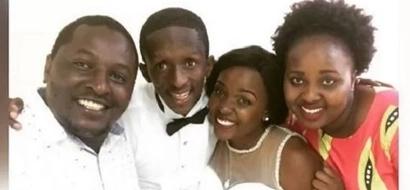 Mcheshi maarufu, Njugush, amtumia mkewe UJUMBE MTAMU wa kimapenzi