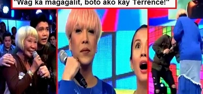 This elderly audience member mentioned Terrence Romeo during her interview on 'It's Showtime!' Watch Vice Ganda's violent reaction!