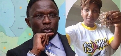 Kenyans comfort Ababu Namwamba's wife after he lost the Budalangi MP seat