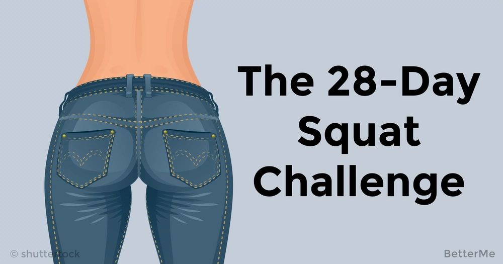 The 28-day squat challenge to get a firm butt