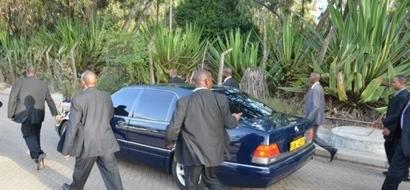 Four Members Of Uhuru's Security Team Die In Road Accident