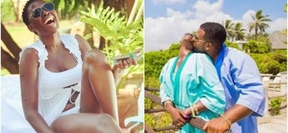 Akothee goes on honeymoon with manager,and Kenyans want to know if they wedded secretly