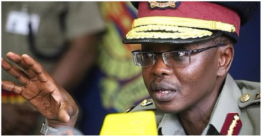 Inspector General of Police Joseph Boinnet. Photo: Citizen Digital.